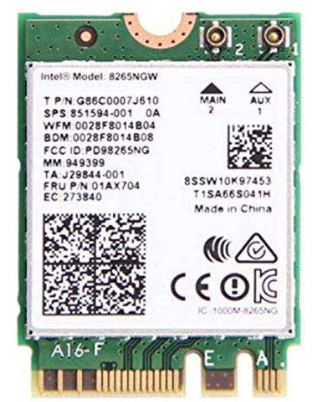 Intel Dual Band Wireless AC 8265 Driver